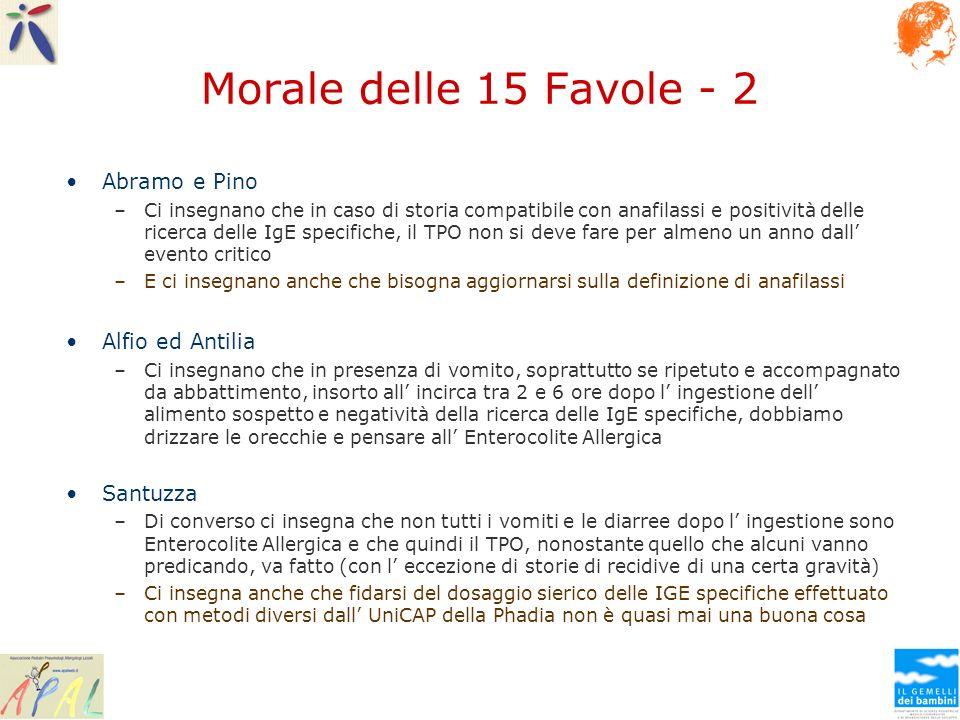 Morale delle 15 Favole - 2 Abramo e Pino Alfio ed Antilia Santuzza