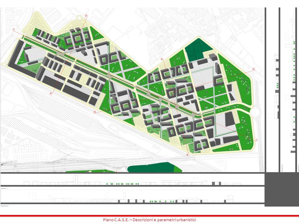 Piano C.A.S.E. – Descrizioni e parametri urbanistici