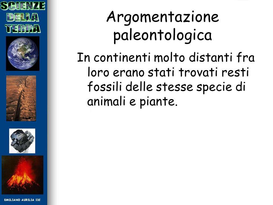 Argomentazione paleontologica
