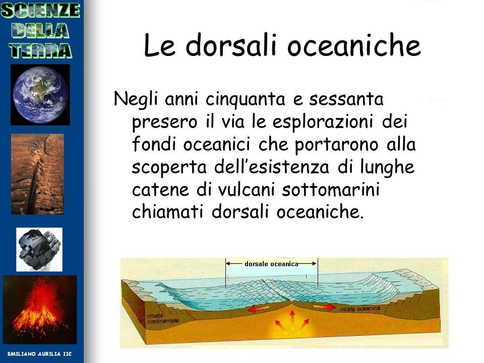Le dorsali oceaniche