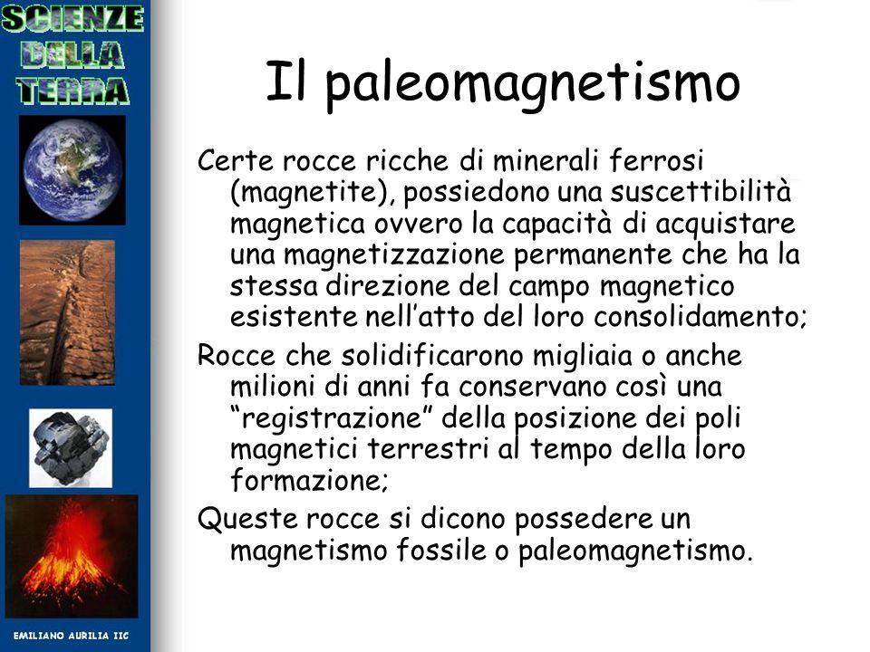 Il paleomagnetismo