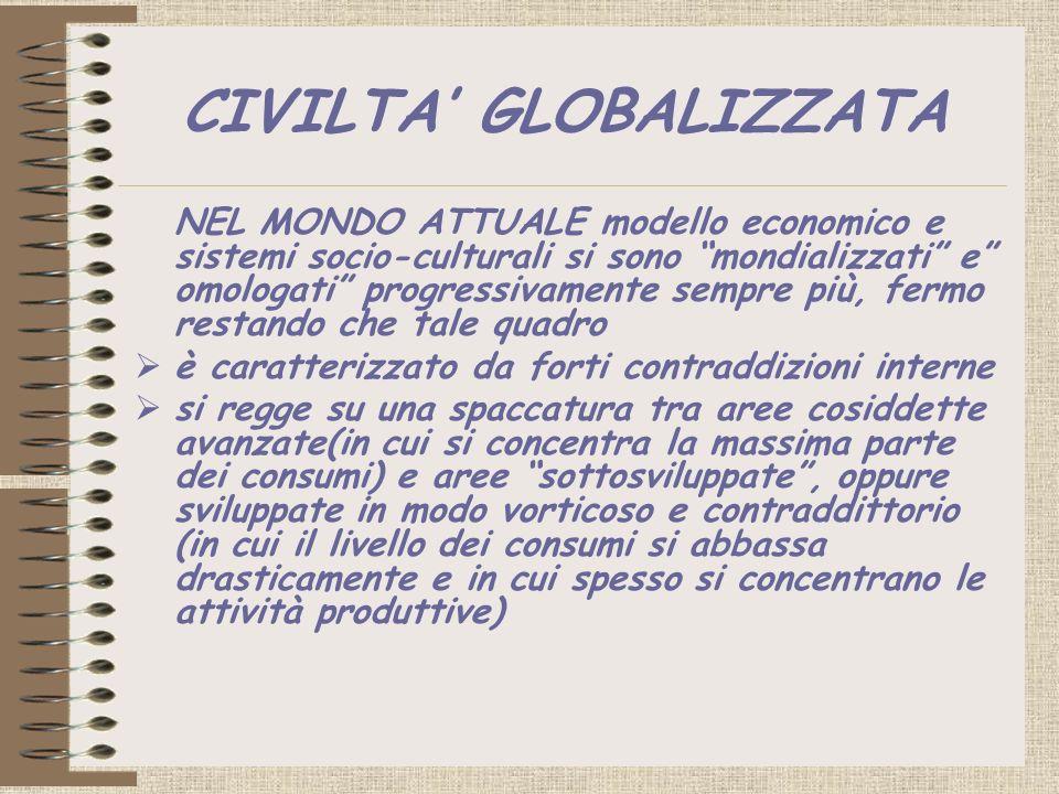 CIVILTA' GLOBALIZZATA