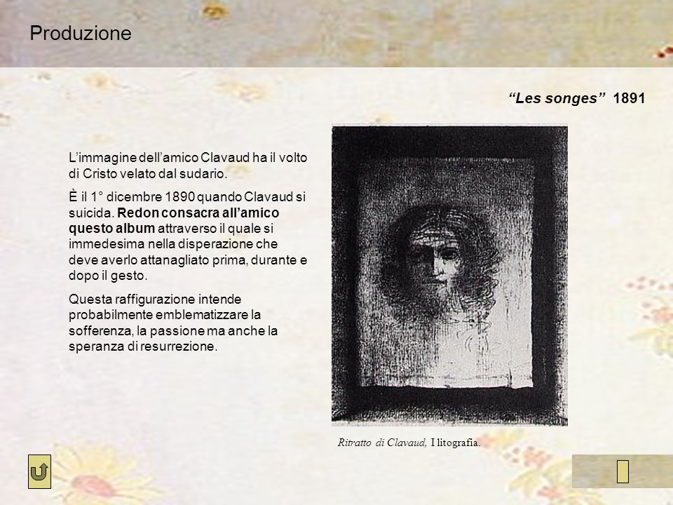 Produzione Les songes 1891