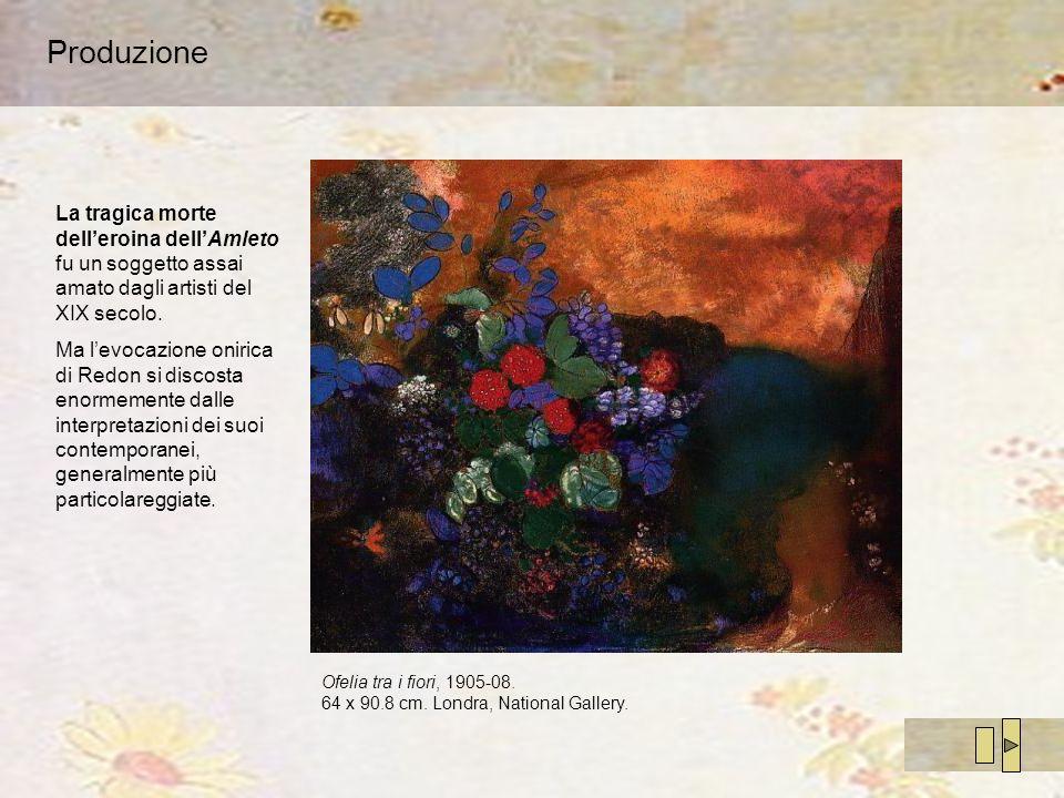 Produzione La tragica morte dell'eroina dell'Amleto fu un soggetto assai amato dagli artisti del XIX secolo.