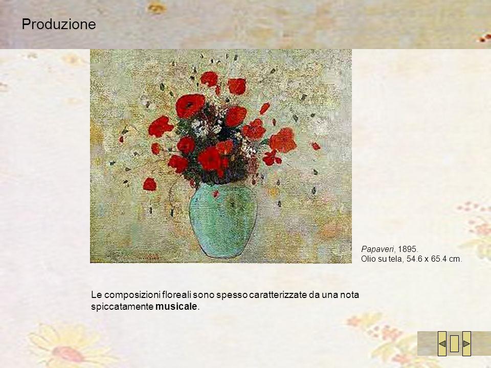 Produzione Papaveri, 1895. Olio su tela, 54.6 x 65.4 cm.