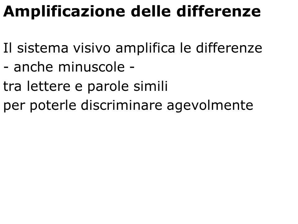 Amplificazione delle differenze