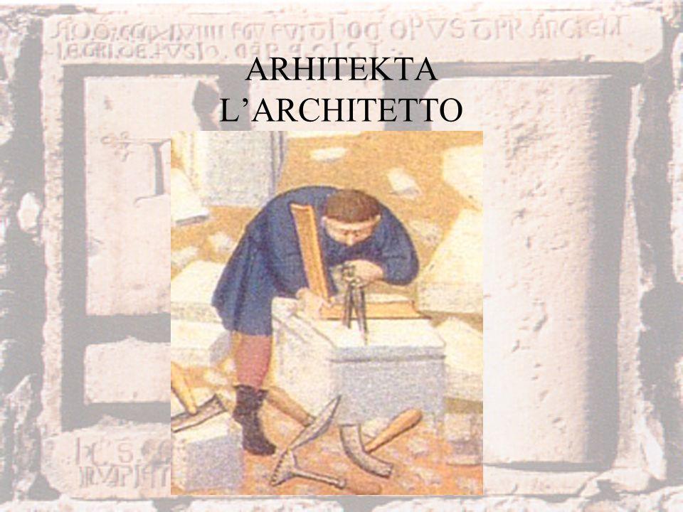 ARHITEKTA L'ARCHITETTO