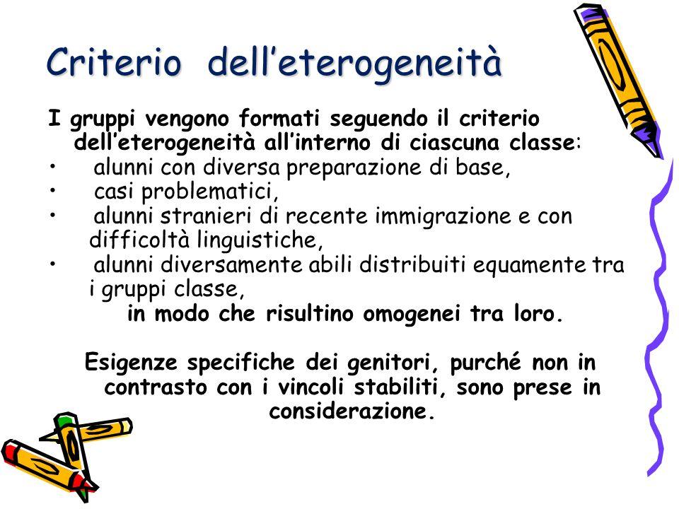 Criterio dell'eterogeneità