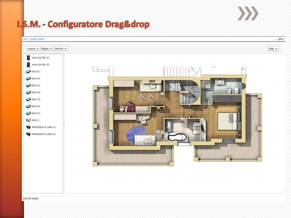 I.S.M. - Configuratore Drag&drop