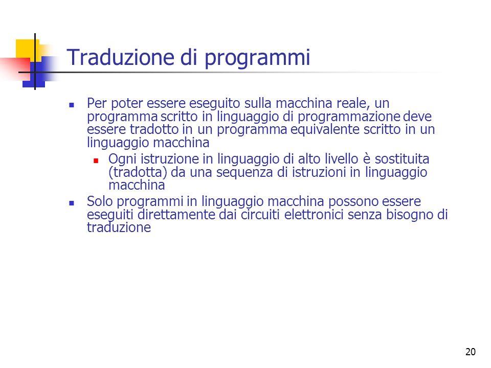Traduzione di programmi
