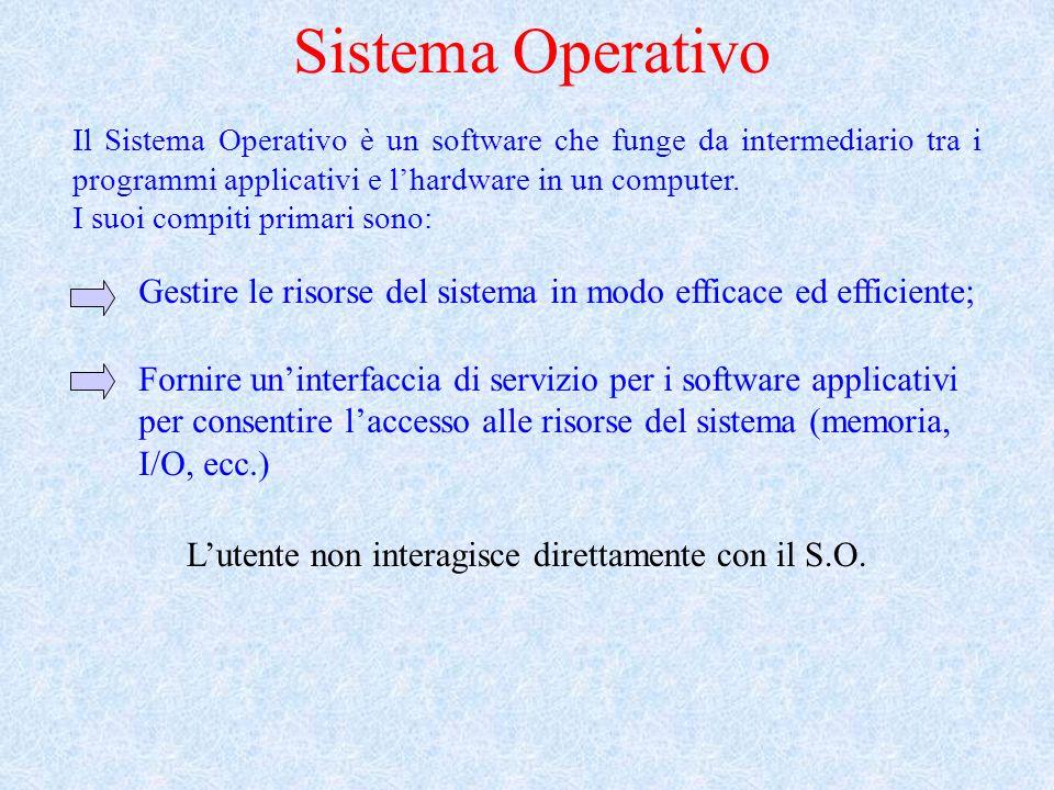 Gestire le risorse del sistema in modo efficace ed efficiente;