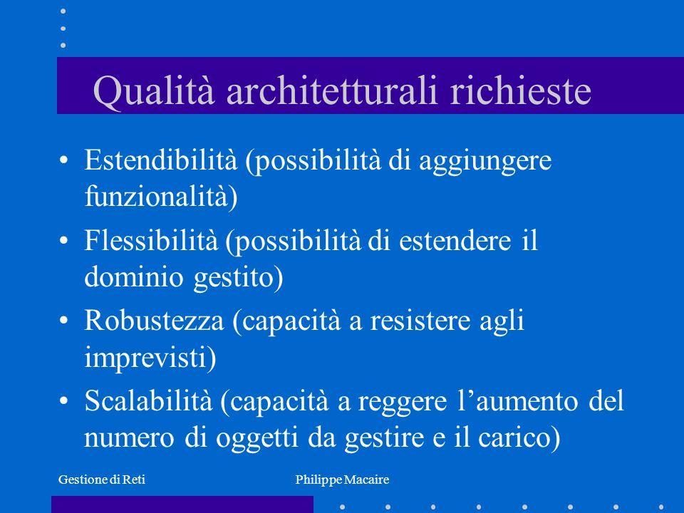 Qualità architetturali richieste
