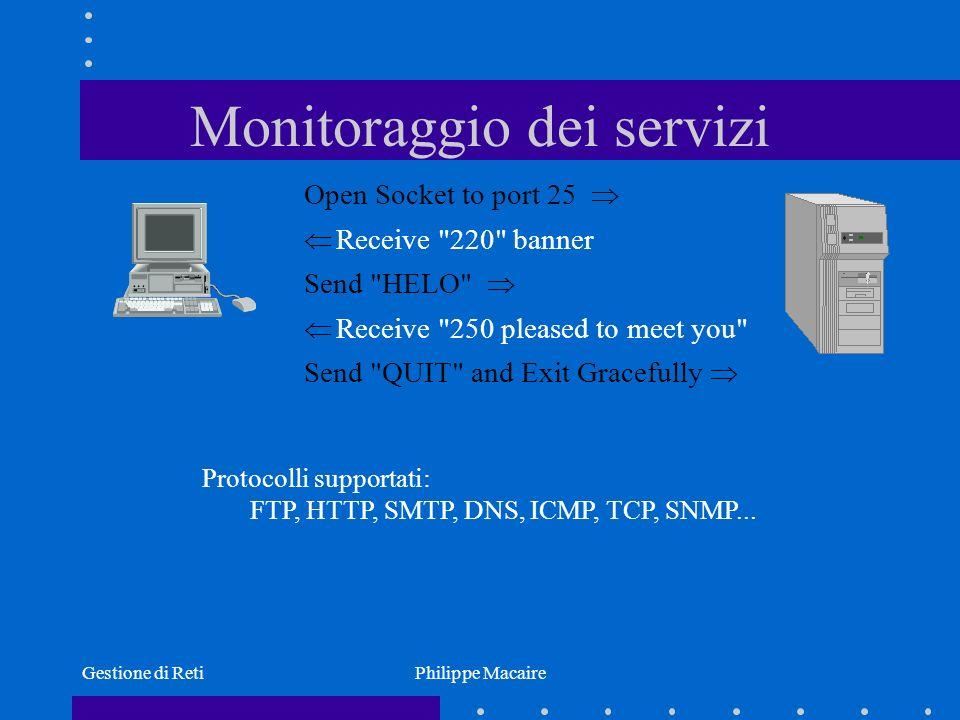 Monitoraggio dei servizi