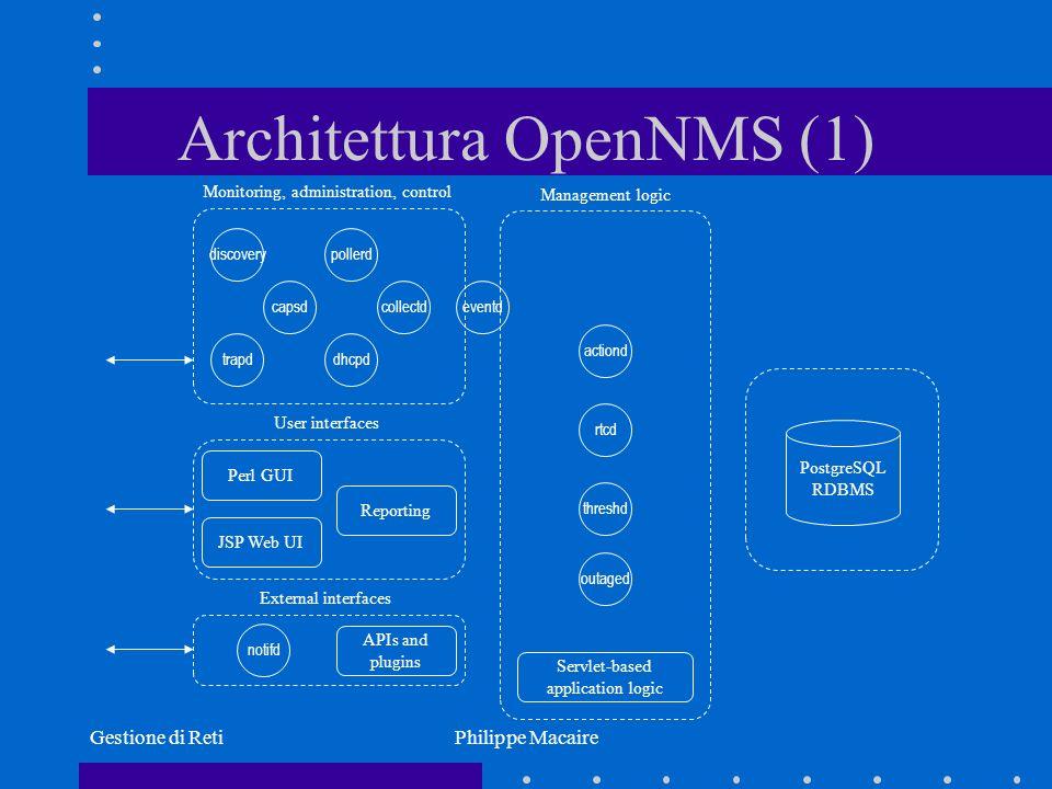 Architettura OpenNMS (1)