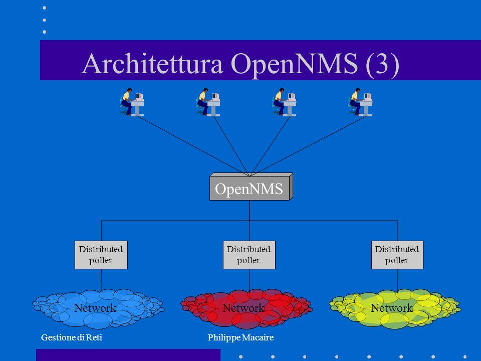 Architettura OpenNMS (3)