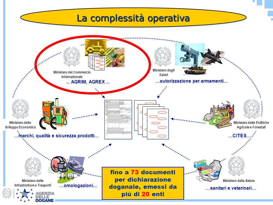 La complessità operativa