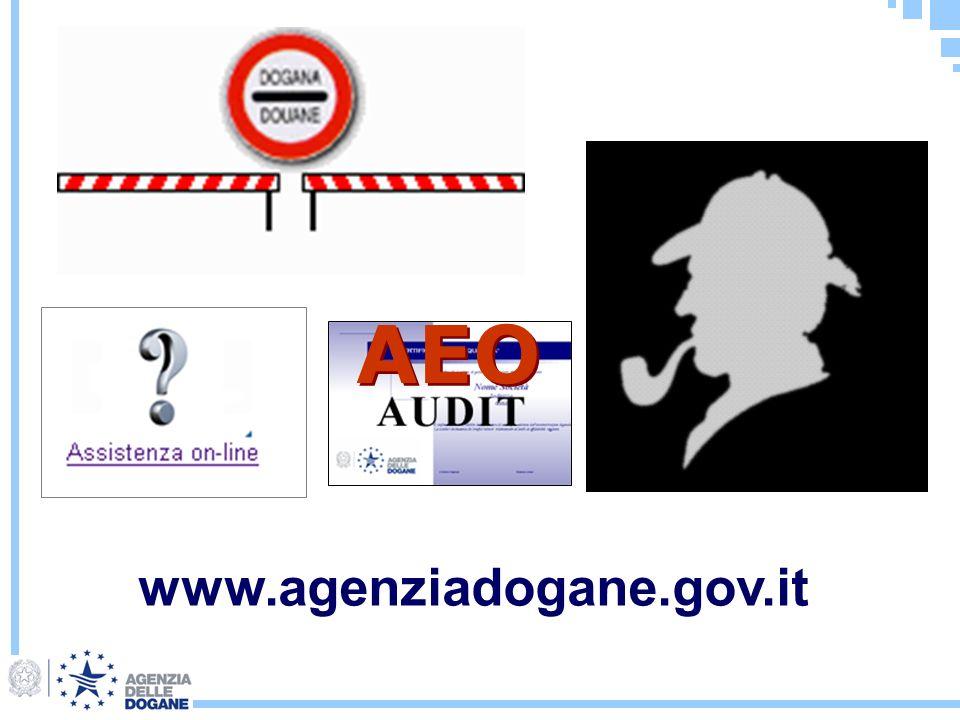 AEO www.agenziadogane.gov.it