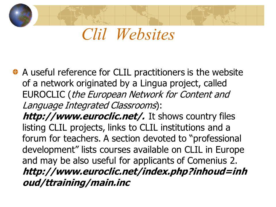 Clil Websites