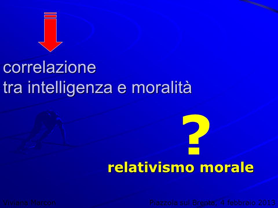 correlazione tra intelligenza e moralità