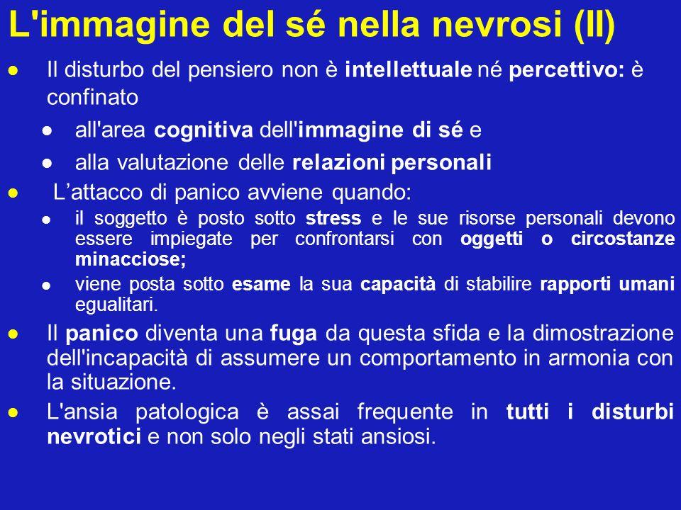 L immagine del sé nella nevrosi (II)