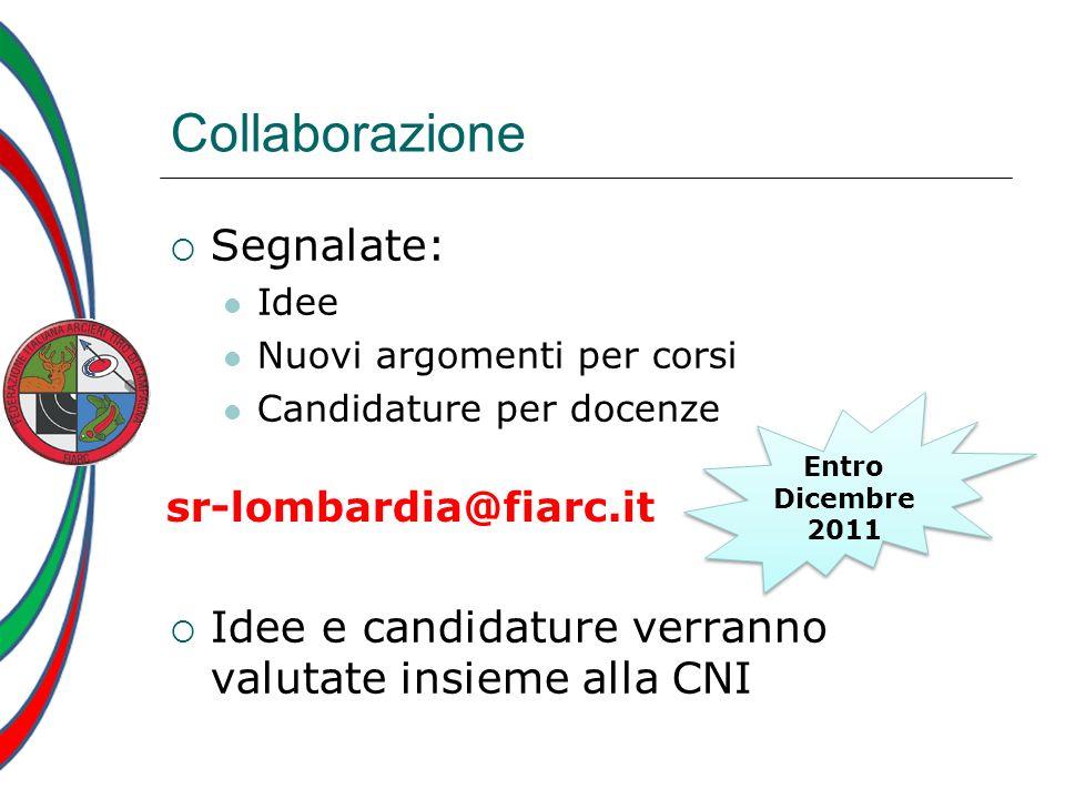 Collaborazione Segnalate: