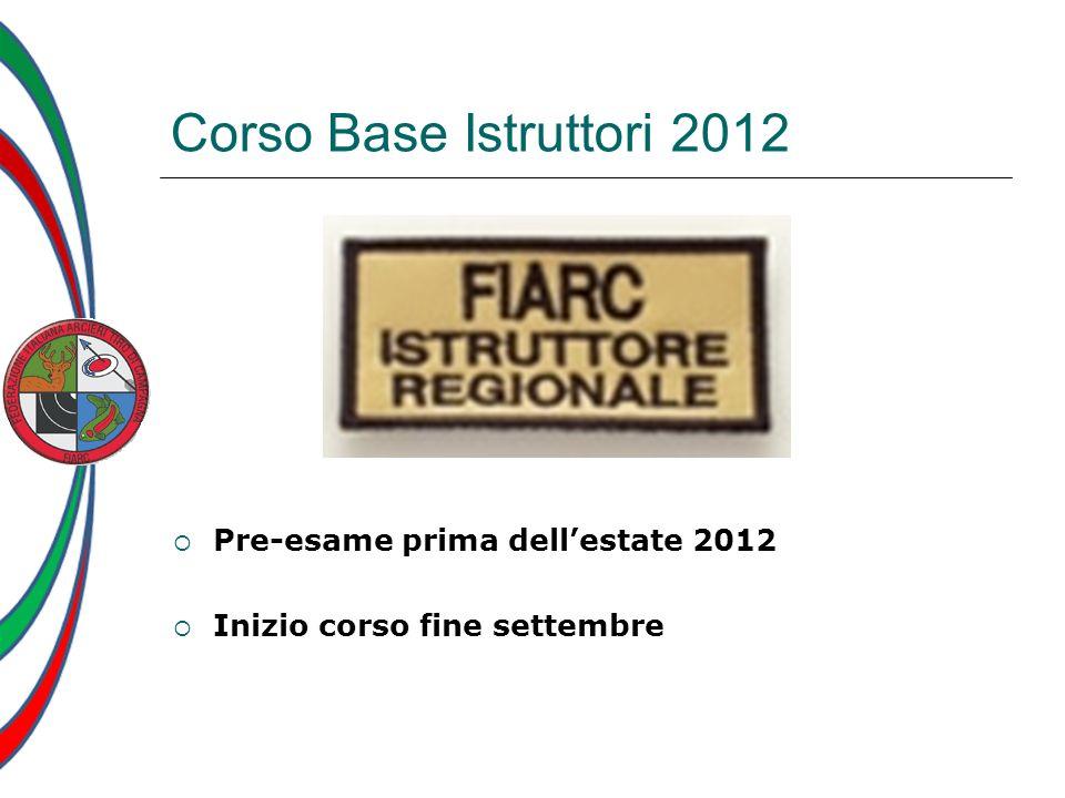 Corso Base Istruttori 2012 Pre-esame prima dell'estate 2012