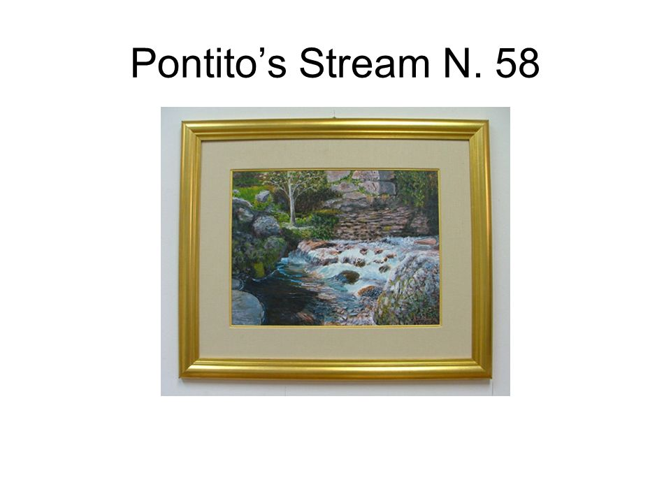 Pontito's Stream N. 58