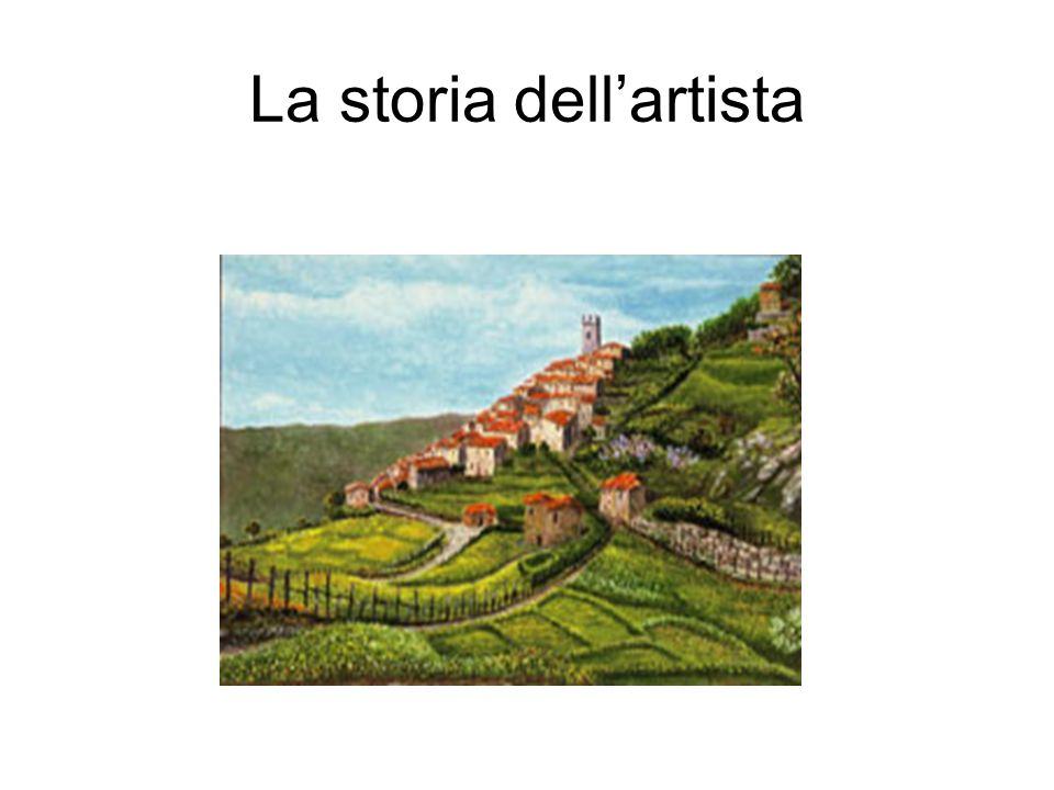 La storia dell'artista