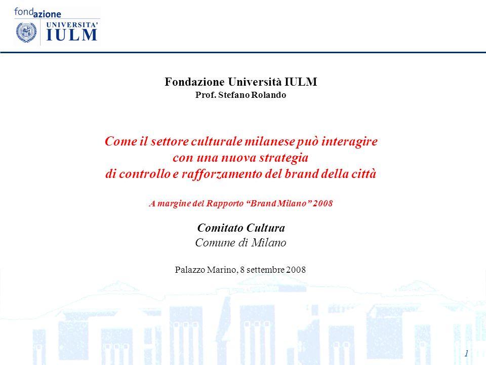 Come il settore culturale milanese può interagire