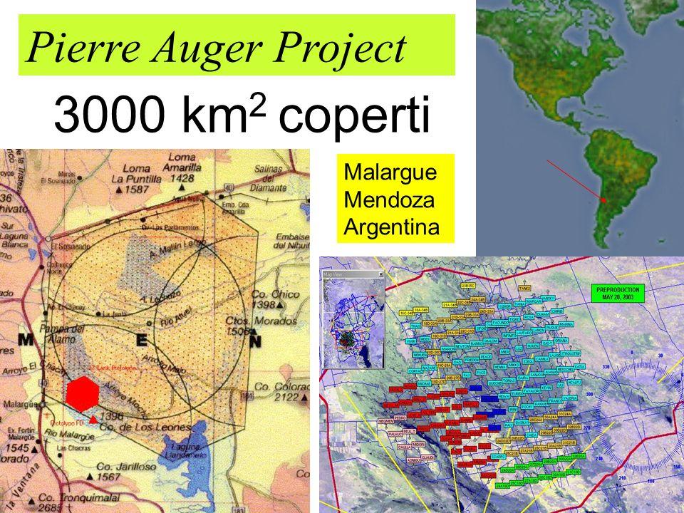Pierre Auger Project 3000 km2 coperti Malargue Mendoza Argentina