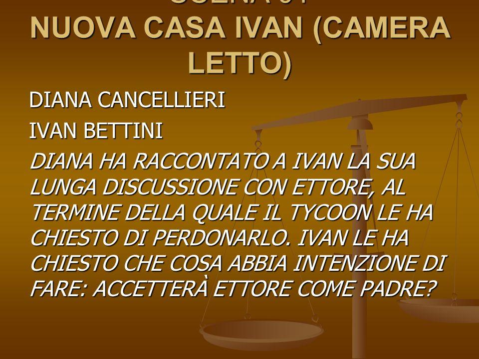 SCENA 01 NUOVA CASA IVAN (CAMERA LETTO)