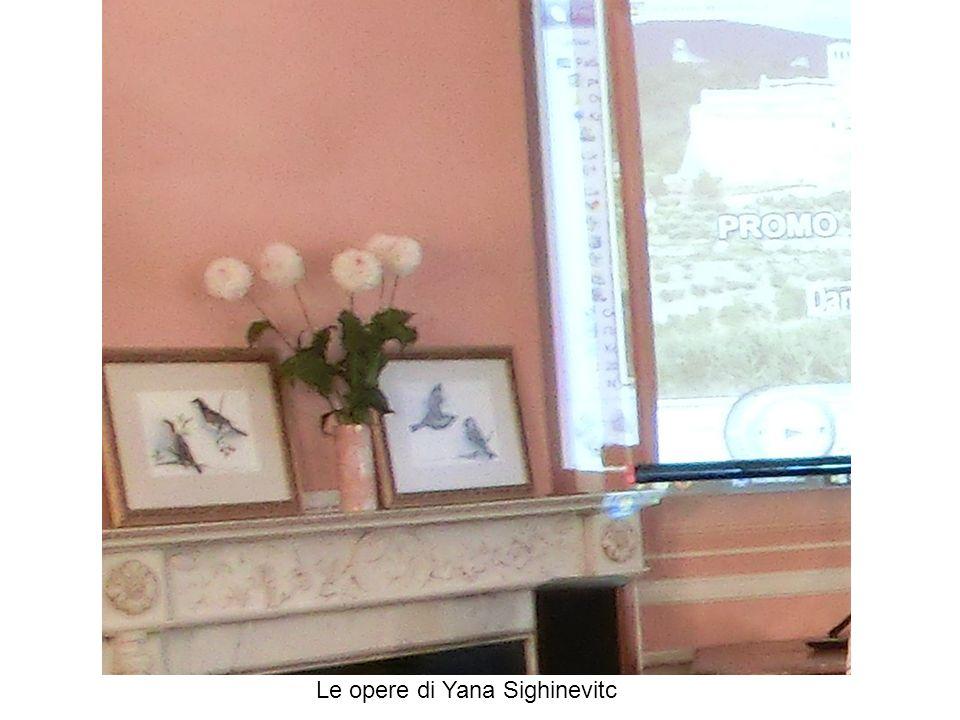 Le opere di Yana Sighinevitc