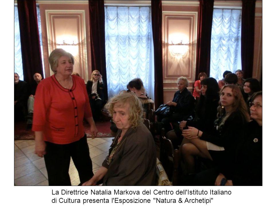 La Direttrice Natalia Markova del Centro dell Istituto Italiano