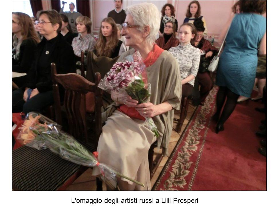 L omaggio degli artisti russi a Lilli Prosperi