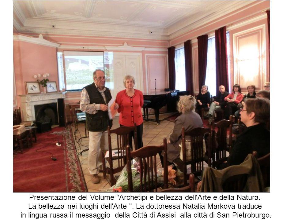 Presentazione del Volume Archetipi e bellezza dell Arte e della Natura.