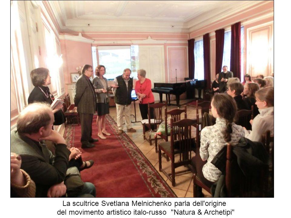 La scultrice Svetlana Melnichenko parla dell origine