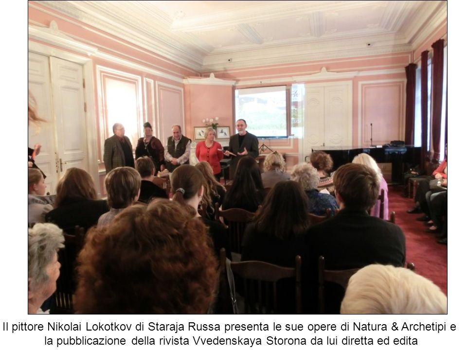 Il pittore Nikolai Lokotkov di Staraja Russa presenta le sue opere di Natura & Archetipi e