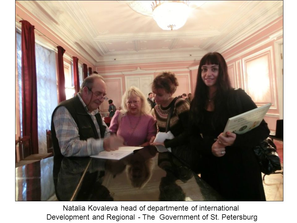 Natalia Kovaleva head of departmente of international