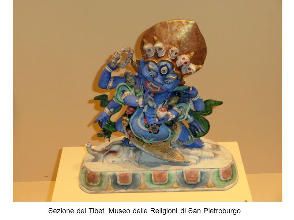 Sezione del Tibet. Museo delle Religioni di San Pietroburgo
