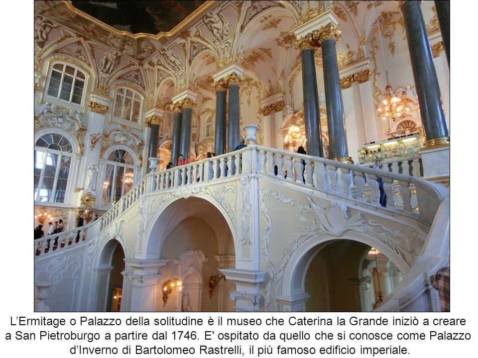 d'Inverno di Bartolomeo Rastrelli, il più famoso edificio imperiale.