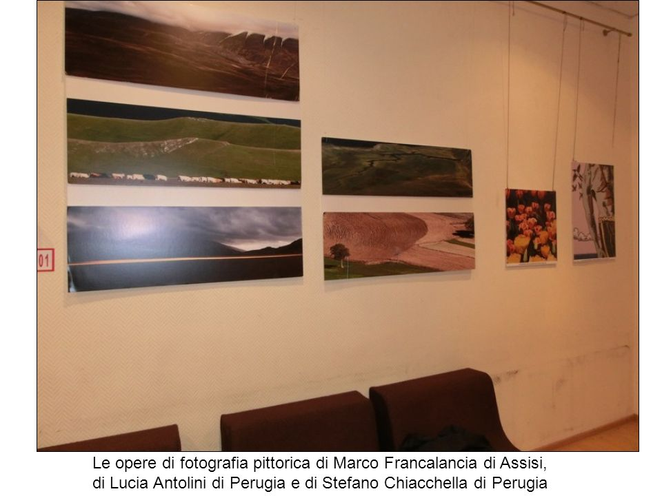 Le opere di fotografia pittorica di Marco Francalancia di Assisi,