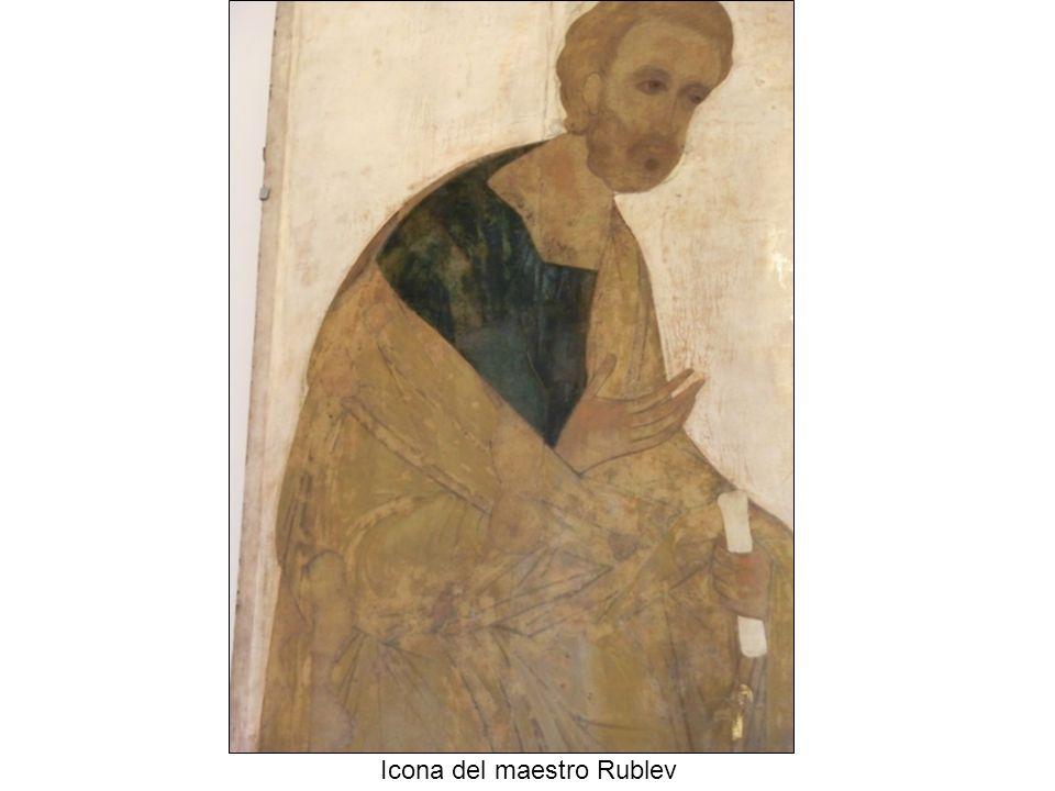 Icona del maestro Rublev