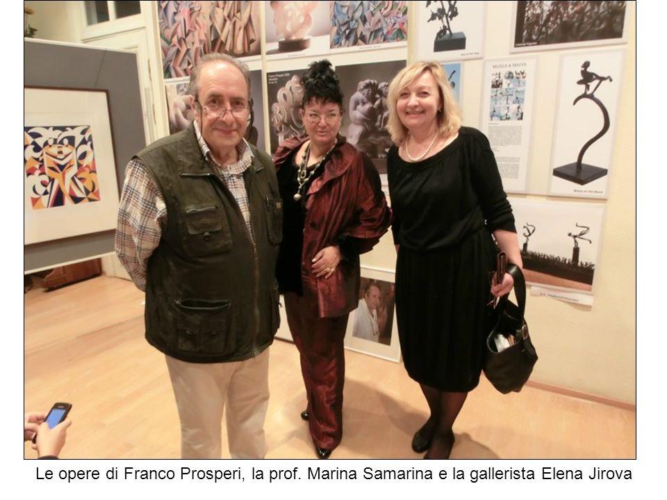 Le opere di Franco Prosperi, la prof