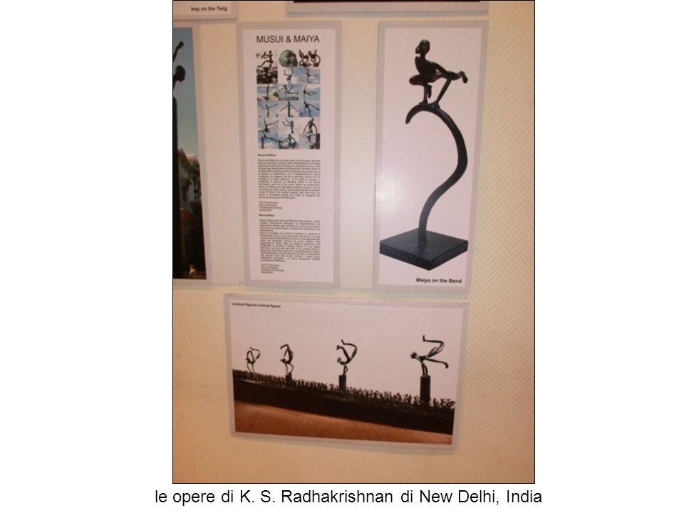 le opere di K. S. Radhakrishnan di New Delhi, India