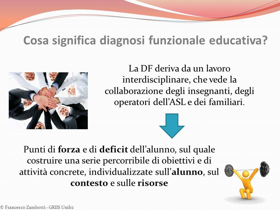 Cosa significa diagnosi funzionale educativa