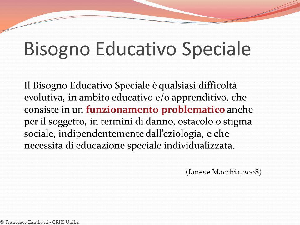 Bisogno Educativo Speciale