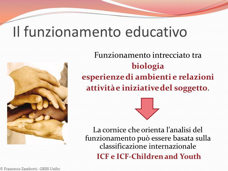 Il funzionamento educativo