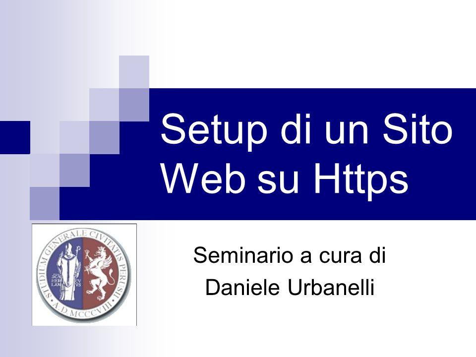 Setup di un Sito Web su Https