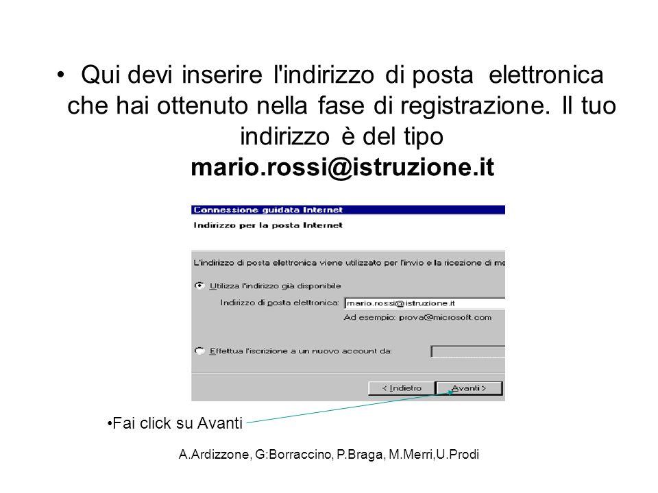 A.Ardizzone, G:Borraccino, P.Braga, M.Merri,U.Prodi