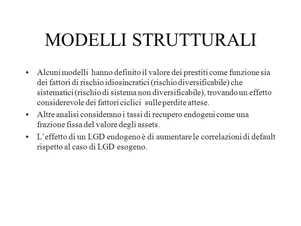 MODELLI STRUTTURALI
